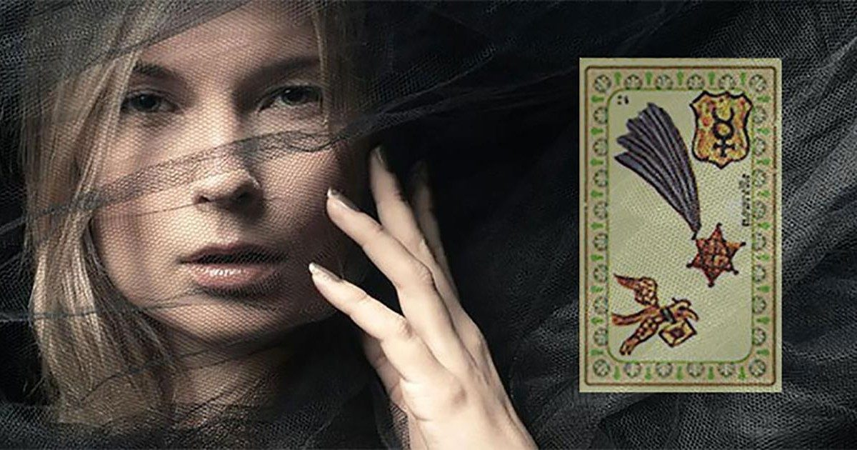 La carte Nouvelle de l'Oracle de Belline